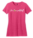 Fromuth DM108L Live Love Pickleball S/S Tee (W) Watermelon