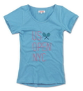 Us Open Tonalist Tee (W) Cool Blue