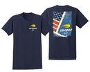 Us Open Ms1134132-Navy 2019 Usa Court Tee (M) Navy