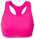 Zensah 114-NEON PINK Seamless Sports Bra, Neon Pink
