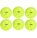Core ICOPB0 Outdoor Pickleball (6x) (Neon Green)