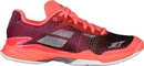 Babolat 31S18685-5017 Jet Mach II All Court (W) Clay, Fluo Pink/Silver/Fandango Pink