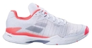 Babolat 31S18630-1012 Jet Mach II All Court (W), White/Fluo Pink/Silver