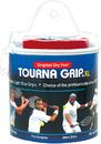 Tourna TOUR-30XL Grip Blue XL Roll (30 Pack) Vinyl Case