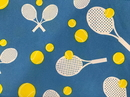 Square Tennis Tablecloth (52