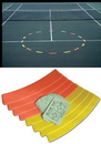 Oncourt TAC8 Curves Court Shapes (8x)