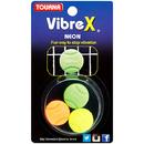 Tourna VIB-NX Vibrex Neon Vibration Dampeners (3x)