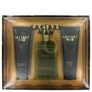 Caesars 459853 Gift Set - 4 oz Cologne Spray + 3.3 oz Shower Gel + 3.3 oz After Shave Balm,for Men