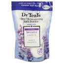 Dr Teal'S Ultra Moisturizing Bath Bombs By Dr Teal'S 550632 Five (5) 1.6 Oz Moisture Soothing Bath Bombs With Lavender, Essential Oils, Jojoba Oil, Sunflower Oil (Unisex) 1.6 Oz
