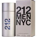 212 By Carolina Herrera Edt Spray 3.4 Oz For Men
