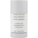 L'Eau D'Issey By Issey Miyake Deodorant Stick Alcohol Free 2.6 Oz For Men