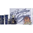 Christian Audigier By Christian Audigier Edt Spray 3.4 Oz & Hair And Body Wash 3 Oz & Deodorant Stick Alcohol Free 2.7 Oz & Edt Spray .25 Oz Mini For Men