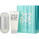 212 By Carolina Herrera - Edt Spray 3.4 Oz & Body Lotion 3.4 Oz (Travel Offer) , For Women