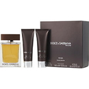 The One By Dolce & Gabbana - Edt Spray 3.4 Oz & Aftershave Balm 1.7 Oz & Shower Gel 1.7 Oz (Travel Edition) For Men