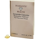 Diamante Beaute Ceramide Restorative Treatment For Face & Throat Capsules--Sample Size Women