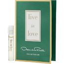 Oscar De La Renta Live In Love By Oscar De La Renta Eau De Parfum Vial For Women