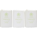 Yardley By Yardley Lily Of The Valley Luxury Soaps 3 X 3.5 Oz Each (New Packaging) For Women