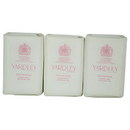Yardley By Yardley English Rose Luxury Soaps 3 X 3.5 Oz Each (New Packaging) For Women