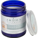 Mental Focus & Energy Booster Aromatherapy By - One 3 X 3 Inch Jar Aromatherapy Candle. Combines The Essential Oils Of Bergamot, Melissa, Lime & Global Mints. Burns Approx. 50 Hrs., For Unisex