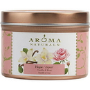 Hope Aromatherapy By Hope Aromatherapy - One 2.5X1.75 Inch Tin Soy Aromatherapy Candle. Combines The Essential Oils Of Vanilla & Rose. Burns Approx. 15 Hrs. , For Unisex