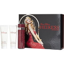 Heiress Paris Hilton By Paris Hilton - Eau De Parfum Spray 3.4 Oz & Body Lotion 3 Oz & Shower Gel 3 Oz (Bling Edition) , For Women
