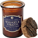 Whiskey & Tobacco Scented By - Spirit Jar Candle - 5 Oz. Burns Approx. 35 Hrs., For Unisex