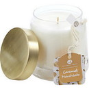 Caramel Macchiato By  Scented Soy Glass Candle 10 Oz.  Combines Espresso Beans, Steamed Milk, Vanilla, Salted Caramel Maple Syrup, & Whipped Sweet Cream.  Burns Approx. 45 Hrs. Unisex