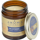 De Stress Aromatherapy By  One 3 X 3 Inch Jar Aromatherapy Candle.  Combines The Essential Oils Of Lavender, Chamomile, Bergamot & Clary Sage.  Burns Approx.  50 Hrs. Unisex