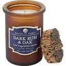 DARK RUM & OAK SCENTED by  Spirit Jar Candle - 5 Oz. Burns Approx. 35 Hrs. Unisex
