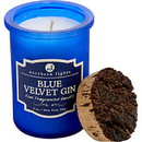 Blue Velvet Gin Scented By  Spirit Jar Candle - 5 Oz. Burns Approx. 35 Hrs. For Unisex