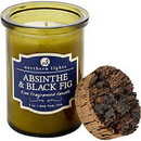 ABSINTHE & BLACK FIG SCENTED by  Spirit Jar Candle - 5 Oz. Burns Approx. 35 Hrs. Unisex