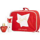 LOLITA LEMPICKA SWEET by Lolita Lempicka Eau De Parfum Spray 1.7 Oz (New Packaging) & Body Lotion 2.5 Oz & Bag WOMEN