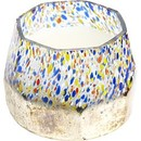 CEDARWOOD & CINNAMON SCENTED by Confetti Soy Wax Blend Candle - 13 Oz. Burns Approx. 50 Hrs. UNISEX