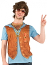 Faux Real F110999 70's Vest Costume