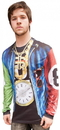 Faux Real F111001 Old School Rapper Costume