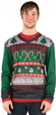 Faux Real F113252 Mens Ugly Christmas Sweater T-Shirt Costume