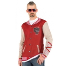 Faux Real F118480 Letterman Jacket