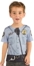 Faux Real F122168 Toddler Policeman Costume