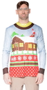 Faux Real F126709 Santa on Break Sweater T-Shirt Costume