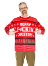 Faux Real F130558 Merry F*ckin' Christmas Sweater Costume
