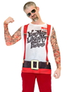 Faux Real F131674 Christmas Tattoos & Suspenders