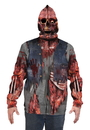 Faux Real F133678 Zombie Mask Hoodie