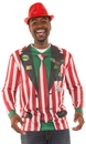 Faux Real F137747 Striped Xmas Suit