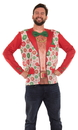 Faux Real F138945 Xmas Shirtless Suit