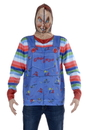 Faux Real F152588 Chucky Zip Mask Hoodie