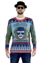 Faux Real F153168 Breaking Bad Christmas Ugly Christmas Sweater Tee