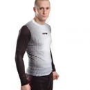 Top Ten MMA Rashguard Gradient, Black/White