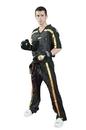 TOP TEN Uniform - MESH - black/gold - 1605-92