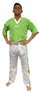 Top Ten Fight suit - Uniform - NEON EDITION - 1681-15, Neon Green/White