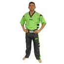Top Ten Fight suit - Uniform - NEON EDITION - 1681-51, Neon Green/Black
